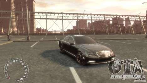 Mercedes-Benz S350 VIP pour GTA 4 est une gauche