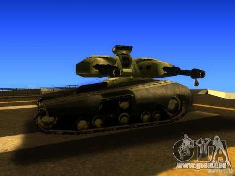 Star Wars Tank v1 für GTA San Andreas zurück linke Ansicht
