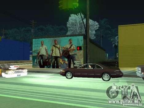Poster de GTA V pour GTA San Andreas quatrième écran