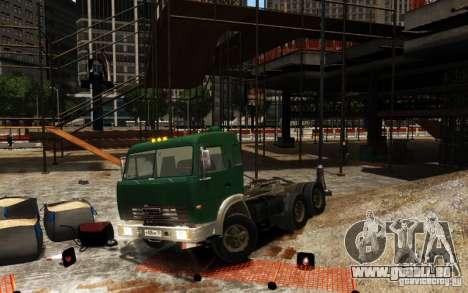 KAMAZ 54115 pour GTA 4
