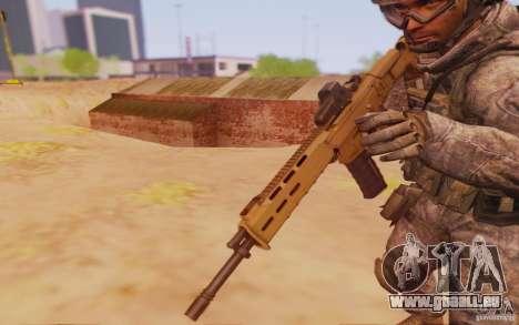 ACR avec un viseur holographique pour GTA San Andreas deuxième écran