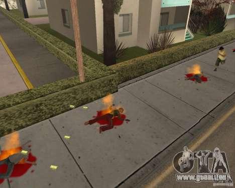Munitions incendiaires pour GTA San Andreas deuxième écran