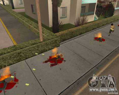 Munitions incendiaires pour GTA San Andreas troisième écran