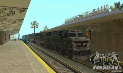 Train de Camo pour GTA San Andreas