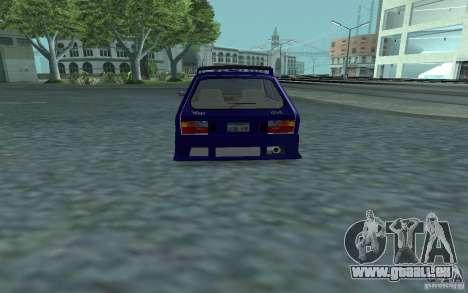 Yugo 45 Tuneable pour GTA San Andreas vue de droite