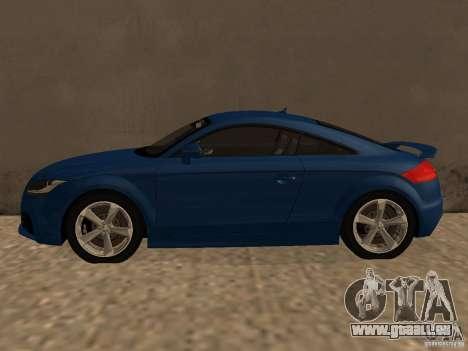 Audi TT RS für GTA San Andreas linke Ansicht