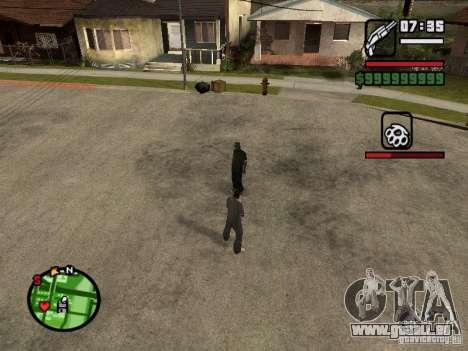 Refill HP und Rüstung der zweite Spieler v1. 0 für GTA San Andreas