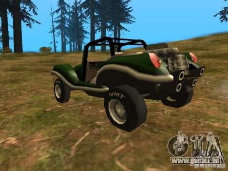 Nouveau BF Injection pour GTA San Andreas sur la vue arrière gauche