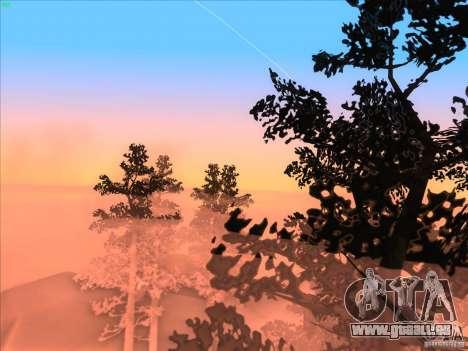SGR ENB Settings pour GTA San Andreas troisième écran