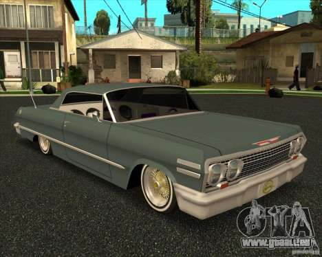 Chevrolet Impala 1963 lowrider pour GTA San Andreas
