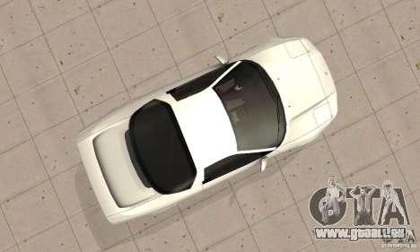 Acura NSX 1991 pour GTA San Andreas vue de droite