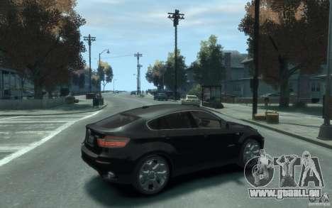 BMW X6 für GTA 4 rechte Ansicht