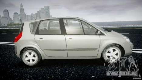 Renault Scenic II Phase 2 pour GTA 4 Vue arrière