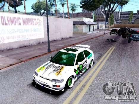 Ford Escort RS 92 Hella pour GTA San Andreas vue arrière