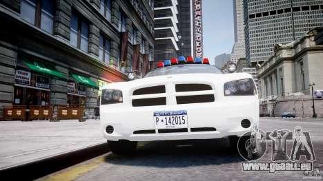 Dodge Charger FBI Police für GTA 4 Unteransicht