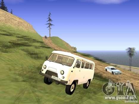 UAZ 2206 für GTA San Andreas linke Ansicht