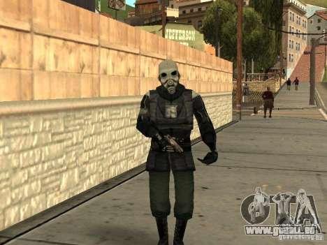 Cops from Half-life 2 für GTA San Andreas