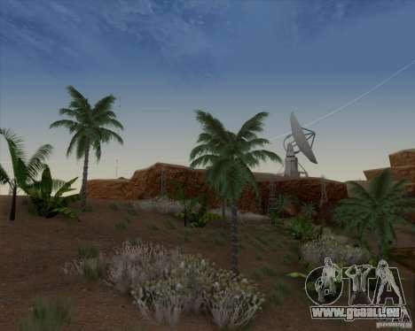 HQ Country N2 Desert pour GTA San Andreas deuxième écran