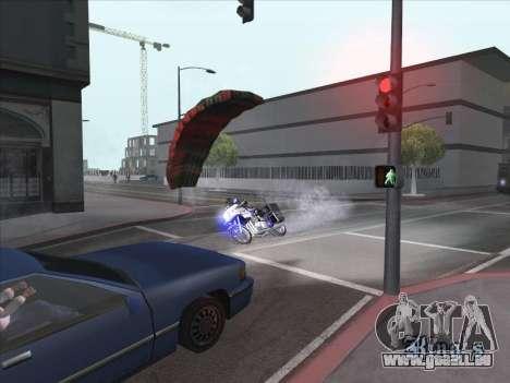 Parachute pour bajka pour GTA San Andreas deuxième écran