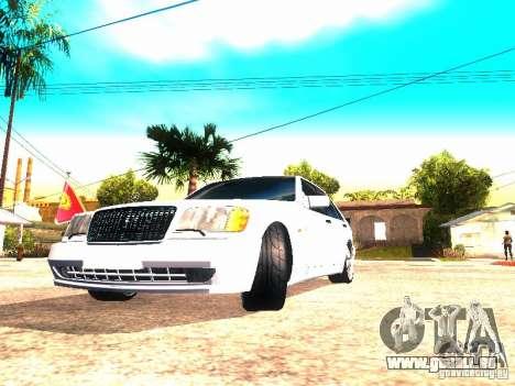 Mercedes-Benz S600 AMG pour GTA San Andreas vue de droite