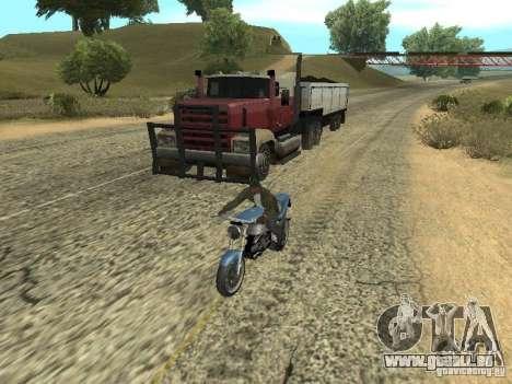 PKW mit Anhänger für GTA San Andreas