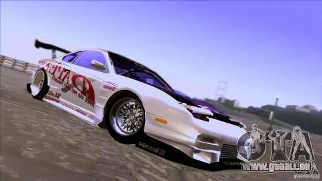 Nissan 150SX Drift pour GTA San Andreas vue de côté