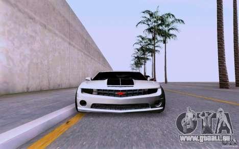 Chevrolet Camaro Super Sport 2012 für GTA San Andreas zurück linke Ansicht