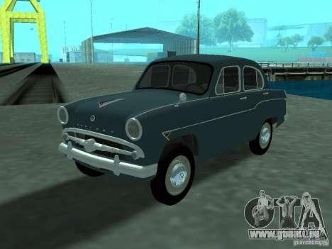 Moskvich 407 pour GTA San Andreas