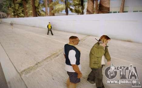 Menschen am Telefon für GTA San Andreas