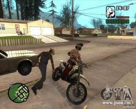 Le coureur du combustible pour GTA San Andreas cinquième écran