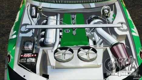 Nissan Silvia KeiOffice pour GTA 4 est une vue de l'intérieur