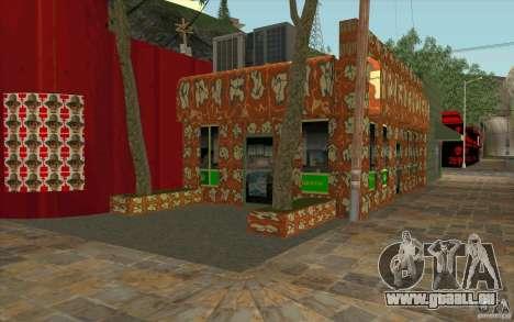Un nouveau village Dillimur pour GTA San Andreas troisième écran