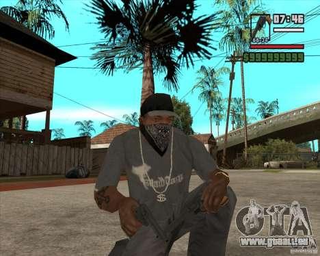 Call of Juarez Bound in Blood Weapon Pack pour GTA San Andreas deuxième écran
