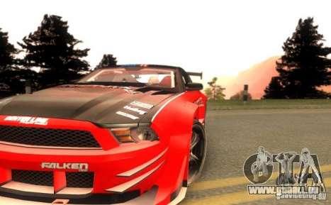 Ford Mustang Shelby GT500 V1.0 für GTA San Andreas Seitenansicht