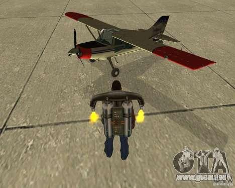 Transport aérien Pak pour GTA San Andreas vue intérieure
