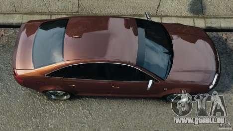 Audi RS6 2003 pour GTA 4 est un droit