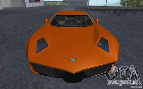 Spada Codatronca TS Concept 2008 pour GTA San Andreas sur la vue arrière gauche