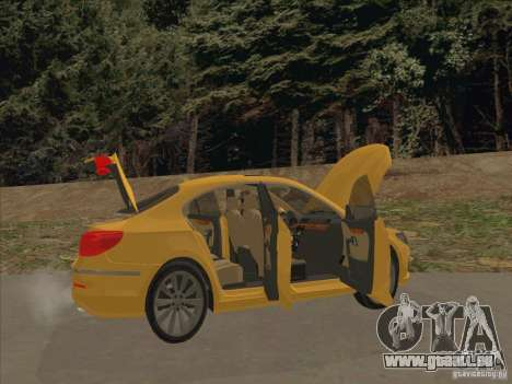 Volkswagen Passat CC für GTA San Andreas Innen