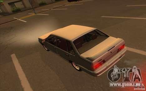 VAZ 2115 Lager v1. 0 für GTA San Andreas rechten Ansicht