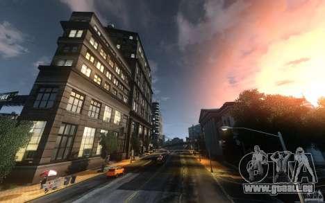 Écrans de menu et démarrage de Liberty City dans pour GTA San Andreas cinquième écran