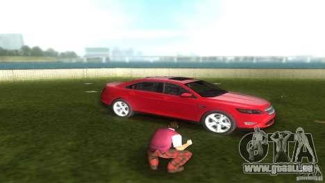 Ford Taurus pour une vue GTA Vice City de la droite