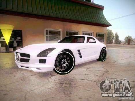 Mercedes-Benz SLS AMG 2010 Hamann Design für GTA San Andreas