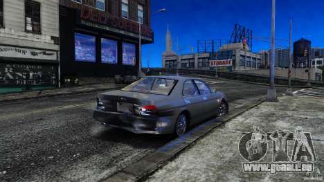 Nissan Laurel GC35 pour GTA 4 est une vue de l'intérieur