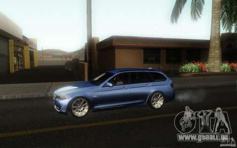BMW F11 530d Touring pour GTA San Andreas laissé vue