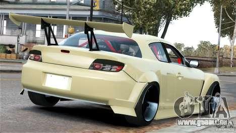 Mazda RX-8 Mad Mike für GTA 4 rechte Ansicht