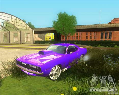 Plymouth Barracuda pour GTA San Andreas