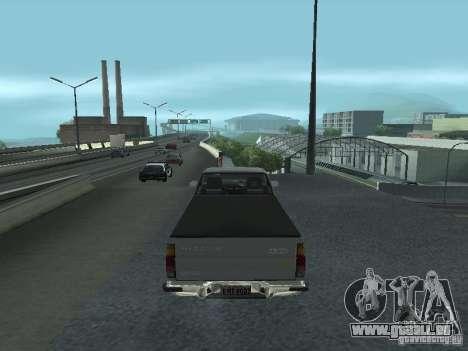 Nissan Pick-up D21 für GTA San Andreas rechten Ansicht