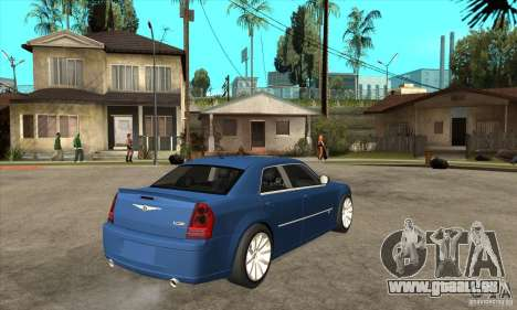Chrysler 300C SRT 8 2008 pour GTA San Andreas vue de droite