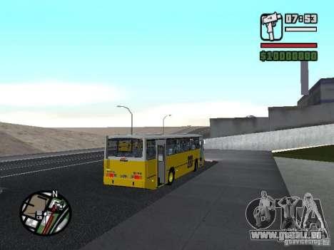 Ciferal GLS Volvo B10M pour GTA San Andreas vue de droite