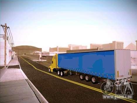 Freightliner Century Classic für GTA San Andreas zurück linke Ansicht